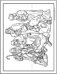 christmas coloring pages in pdf 15 printable christmas coloring pages jesus mary nativity scenes