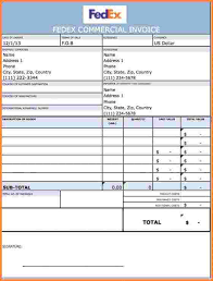 8 commercial invoice template word doc invoice template