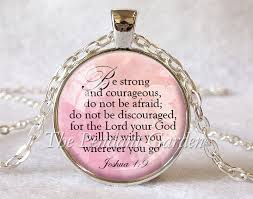 custom pendants joshua 1 9 pendant scripture quote bible quote