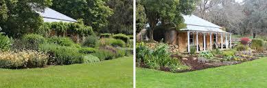 The Summer And Winter Garden - st erth perennial border in summer and winter landscape net au