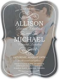 wedding invitations shutterfly flourish with 6x8 wedding invitations shutterfly