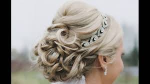 curled updo is numerous indian wedding hair style for medium hair