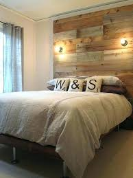 natural wood headboard reclaimed wood platform bed base pallet