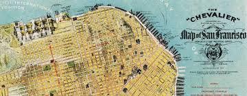 san francisco map detailed chevalier map of san francisco 1912