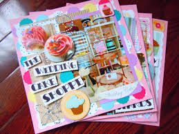 here comes the cupcake bride scrapbooking the wedding cake shoppe