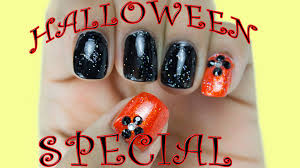easy halloween nail art tutorial step by step halloween nail art