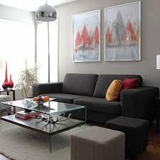 Wohnzimmer Farbgestaltung Modern Gemütliche Innenarchitektur Wohnzimmer Grau Gelb Gardinen Modern