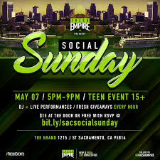 social sunday all city prom tickets sun may 7 2017 at 4 00 pm