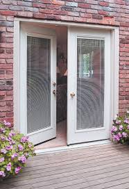 french patio doors with built in blinds door decoration