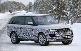 lifted range rover 2017 range rover spied sporting a mild facelift
