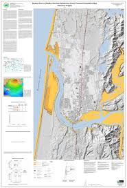 Earthquake Map Oregon by Western Lane Emergency Operations Group City Of Florence Oregon
