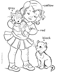 coloring pages for kindergarten kindergarten coloring sheet coloring home