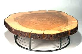 wood stump coffee table wood stump coffee table table table made from tree trunk reclaimed