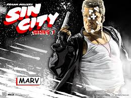 sin city marv halloween costume posters on behance