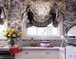 Black And White Toile Bedding Black Kitchen Curtains Captainwalt Com