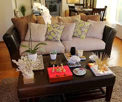 coffee table decorations hall contemporary with art chair living room living room centerpieces for tables coffee table