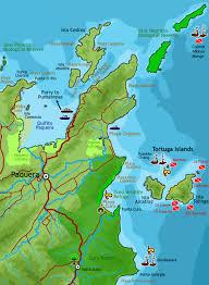 Map East Coast East Coast Map Of The Southern Nicoya Peninsula Montezuma Costa