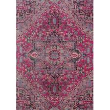 Pink Oriental Rug 7 U0027 X 9 U0027 Pink Area Rugs You U0027ll Love Wayfair