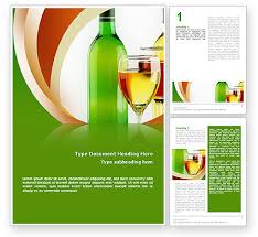 white wine tasting word template 02342 poweredtemplate com
