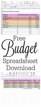 Free Spreadsheet Templates by Best 25 Budget Spreadsheet Template Ideas On Budget