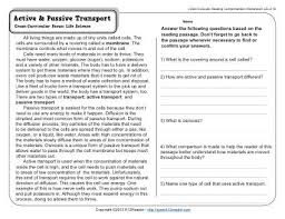 active transport worksheet free worksheets library download and