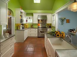 Green Cabinets Kitchen by Bright Green Kitchen Makeover Laura Dalzell Hgtv