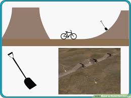 How To Make A Wooden Table Top Jump by How To Build Dirt Jumps 5 Steps With Pictures Wikihow
