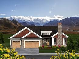 craftsman style ranch home plans 23 best house plans images on house floor plans ranch