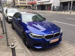 brand new 2018 bmw m5 spotted in frankfurt drivetribe