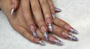 stiletto nail art how to create perfect stiletto nails uv gel