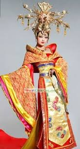 ancient chinese princess clothing and headpiece sans headpiece