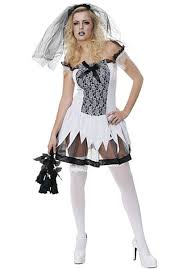 scary zombie halloween costumes for girls scary zombie bride costume escapade uk