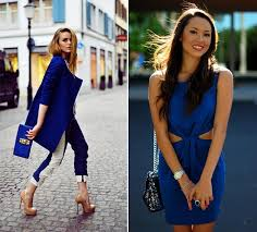 color tips to match clothing how to wear sapphire blue fashionisers