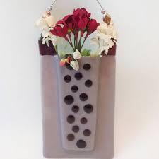 Wall Mounted Glass Flower Vases Shop Polka Dot Vase On Wanelo