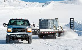 towing on winter roads all trailer repair
