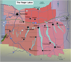 Zip Code Map Rochester Ny by Finger Lakes New York Map New York Map