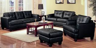 Large Black Leather Sofa Living Room Black Leather Sofa Laminate Flooring Purple Coffee