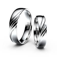 snubni prsteny snubní prsteny z bílého zlata s brilianty pár 3044 dfprsteny cz