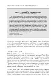 Responsibility Worksheet 4 Achieving An Effective Zoonotic Disease Surveillance System