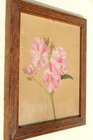 oil paintings botanical art flowers painted floral sketches in