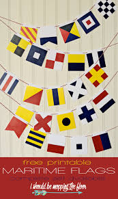 International Bunting Flags Free Printable Maritime Flags Free Printable Flags And Free
