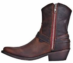 zipper boots s dingo boots drop it low s 7 side zip leather cowboy