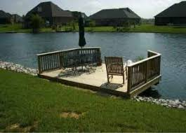 building a stationary dock professional deck builder foundation