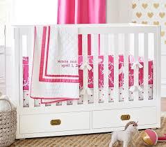 Baby Crib And Mattress Set Chinoiserie Baby Bedding Set Pottery Barn