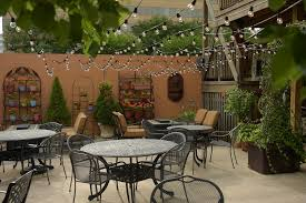 Restaurant Patio Planters by Spots Restaurants Create Elaborate Outdoor Seating
