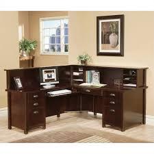 L Shaped Executive Desk Martin Furniture Tribeca Loft Cherry Lhf L Shaped Executive Desk