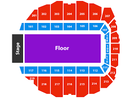 Concert Hall Floor Plan Seating Chart Adirondack Bank Center