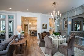 the den at dining in fort bend lifestyles homes magazine traditional with a twist