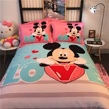 Mickey Mouse Bedroom Ideas Online Get Cheap Mickey Mouse Comforter Set Aliexpress Com
