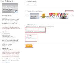 order gift cards order visa gift card